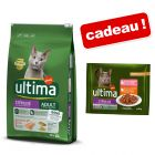 Croquettes Affinity Ultima 7,5 ou 10 kg + sachets 4 x 85 g offerts !