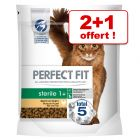 Croquettes Perfect Fit 2 x 750 g + 750 g offerts !