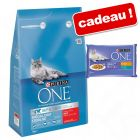 Croquettes PURINA ONE 3 kg + sachets Sensible 4 x 85 g offerts !