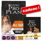 Croquettes PURINA PRO PLAN 14 kg + biscuits light 400 g offerts !