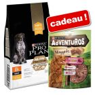 Croquettes PURINA PRO PLAN Nutriprotein 10 kg + friandises AdVENTuROS Nuggets 5 x 90 g offertes !