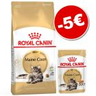 Croquettes Royal Canin Breed & Care 4 / 10 kg + 12 sachets  : 5 € de remise !