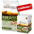 Croquettes True Instinct 12 kg + multipack Medium/Maxi 4 x 300 g offert !
