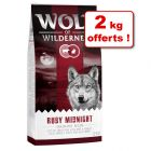 Croquettes Wolf of Wilderness 12 kg + 2 kg offerts !