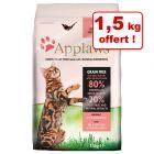 Croquettes Applaws pour chat 6 kg + 1,5 kg offert !