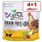 Croquettes Beyond Sans céréales 4 x 1,2 kg pour chat + 1 sac offert !