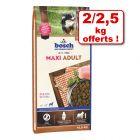Croquettes bosch 10,5/12,5 kg + 2/2,5 kg offerts !