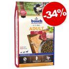 Croquettes Bosch 1 kg pour chien : 34 % de remise !