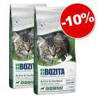 Croquettes Bozita pour chat ou chaton 2 x 2 kg : 10 % de remise !