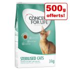 Croquettes Concept for Life 2,5 kg + 500 g offerts !