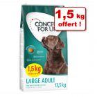 Croquettes Concept for Life 12 kg + 1,5 kg offert !