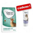 Croquettes Concept for Life 3 kg + pâte Concept for Life beauty offert !
