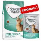 Croquettes Concept for Life 9/10 kg + sachets 12 x 85 g offerts !