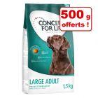 Croquettes Concept for Life pour chien 2,5 kg + 500 g offerts !