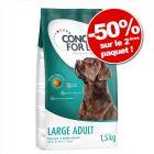 Croquettes Concept for Life 2 x 1,5 kg : - 50 % sur le deuxième paquet !