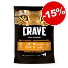 Croquettes Crave Adult pour chat 750 g : 15 % de remise !
