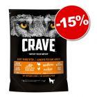 Croquettes Crave 1 à 11,5 kg pour chien : 15 % de remise !