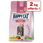 Croquettes Happy Cat pour chat 8 kg + 2 kg offerts !