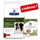 Croquettes Hill's Prescription Diet 10/12 kg + friandises Hill's offertes !