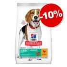 Croquettes Hill's Science Plan 6 à 14 kg pour chien : 10 % de remise !