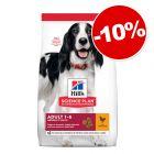Croquettes Hill's Science Plan pour chien 6 à 14,5 kg : 10 % de remise !