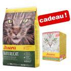 Croquettes Josera pour chat 10 kg +  Paté Josera 6 x 85 g en cadeau !