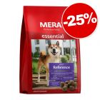 Croquettes MERA essential pour chien 4 kg : 25 % de remise !