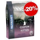Croquettes Nutrivet Inne Cat Kitten 6 kg : 20 % de remise !