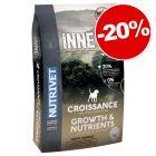 Croquettes Nutrivet Inne Dog Growth 12 kg : 20 % de remise !
