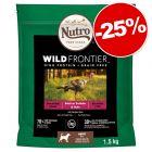 Croquettes Nutro 1,4 à 11 kg : 25 % de remise !