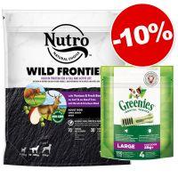 Croquettes Nutro 1,4 kg + friandises Greenies Large 170 g  : 10 % de remise !