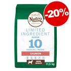 Croquettes Nutro Limited Ingredient Adult saumon : 20 % de remise !