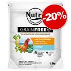 Croquettes Nutro pour chat 1,4 / 4 kg : 20 % de remise !