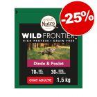 Croquettes Nutro pour chat 1,4 / 1,5 / 4 kg  : 25 % de remise !
