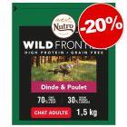 Croquettes Nutro pour chat 1,4 / 1,5 / 4 kg  : 20 % de remise !
