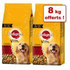 Croquettes Pedigree pour chien 22 kg + 8 kg offerts !
