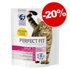 Croquettes PERFECT FIT pour chat 1,4 à 7 kg  : 20 % de remise !