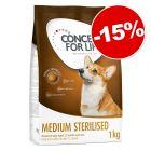 Croquettes pour chien Concept for Life Sterilised 4 kg : 15 % de remise !