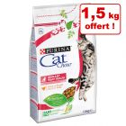 Croquettes PURINA CAT CHOW 2 x 1,5 kg + 1,5 kg offert !
