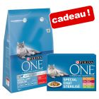 Croquettes PURINA ONE 3 kg + sachets 8 x 85 g offerts !