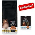 Croquettes PURINA PRO PLAN 14 kg + friandise PURINA PRO PLAN