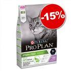 Croquettes PURINA PRO PLAN 3 kg pour chat : 15 % de remise !