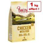 Croquettes Purizon pour chien 4 kg + 1 kg offert !