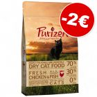 Croquettes Purizon sans céréales 2,5 kg : 2 € de remise immédiate !