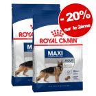 Croquettes Royal Canin Size 2 x 8 à 15 kg : 20 % de remise sur le 2ème sac !