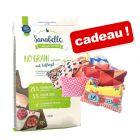 Croquettes Sanabelle 10 kg  + 2 coussins de jeu à la valériane offert !