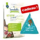 Croquettes Sanabelle 10 kg + friandises Dental Snack 12 x 20 g offertes !