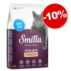 Croquettes Smilla 10 kg pour chat : 10 % de remise !