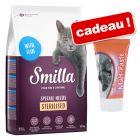 Croquettes Smilla 10 kg pour chat + pâte au malt Smilla 50 g offerte !