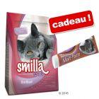 Croquettes Smilla 10 kg + pâte au malt Smilla 50 g offerte !